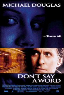 Don't Say a Word (2001) - Psyhological Thrillers