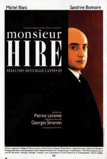 Monsieur Hire (1989) - Psyhological Thrillers