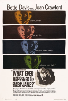 What Ever Happened to Baby Jane (1962) - Psychological Thrillers
