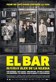 The Bar (El bar) (2017) - Psychological Thrillers